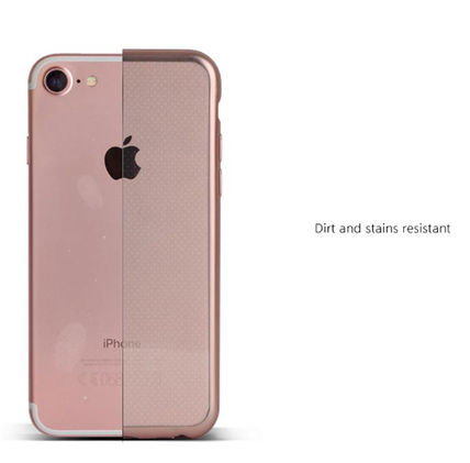 DESIGN SKIN スマホケース・テックアクセサリー [DESIGN SKIN]★4色★MATTE METALIC CLEAR TPU CASE(9)