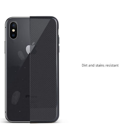 DESIGN SKIN スマホケース・テックアクセサリー [DESIGN SKIN]★4色★MATTE METALIC CLEAR TPU CASE(14)