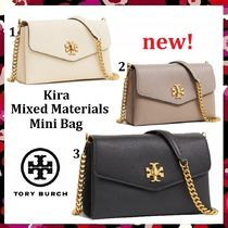 セール 新作 Tory Burch Kira Mixed-Materials Mini Bag 未発売