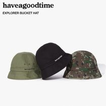 HAVE A GOOD TIME★韓国★男女兼用★ EXPLORER BUCKET HAT