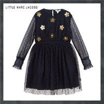 Little Marc Jacobs★navy blueドット柄ドレス★2-10Y 関税込