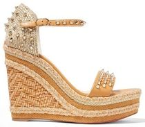 ★CHRISTIAN LOUBOUTIN★MADMONICA 120 WEDGE SANDALS