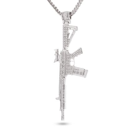 King Ice ネックレス・チョーカー 【関税送料込み】White Gold M4 Necklace
