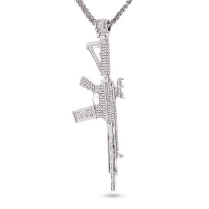 King Ice ネックレス・チョーカー 【関税送料込み】White Gold M4 Necklace(2)
