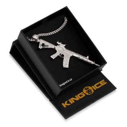 King Ice ネックレス・チョーカー 【関税送料込み】White Gold M4 Necklace(4)