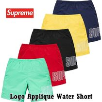 Supreme Logo Applique Water Short SS 19 WEEK 17