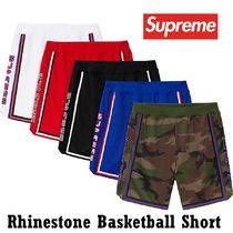 Supreme  Rhinestone Basketball Short SS 19 WEEK 17