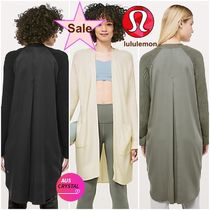 lululemon★Still at Ease Wrap★ロングカーディガン♪