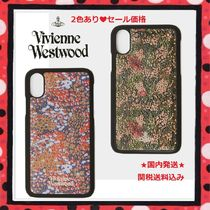 SALE★国内発送 Vivienne Westwood IPhone X CASE 迷彩柄レザー