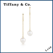 【Tiffany & Co.】人気 Pearls by the Yard Chain Earrings★