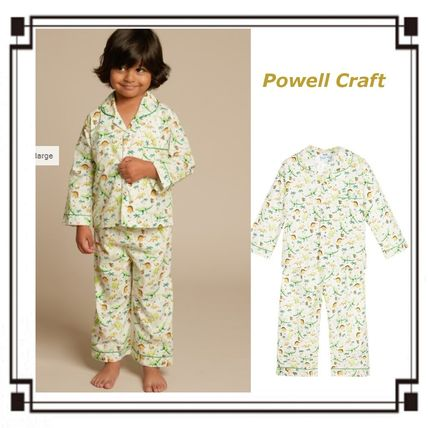 Powell Craft◆ギフト可☆恐竜 プリント パジャマ