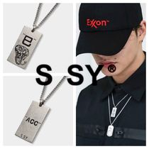 【S SY COMPANY】SQUARE SNAKE CHAIN NECKLESS
