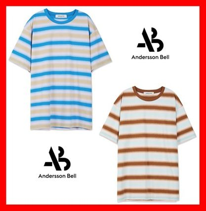 ANDERSSON BELL Tシャツ・カットソー ☆人気☆【ANDERSSON BELL】☆GRADATION STRIPE T-SHIRT☆2色☆