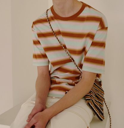 ANDERSSON BELL Tシャツ・カットソー ☆人気☆【ANDERSSON BELL】☆GRADATION STRIPE T-SHIRT☆2色☆(4)
