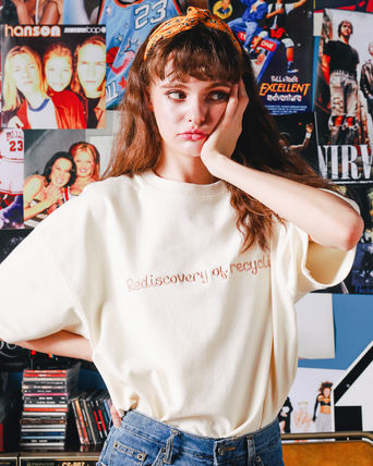WV PROJECT Tシャツ・カットソー ☆WV PROJECT☆OVER FIT LIBY T-SHIRTS / SWST7275 3COLOR(13)