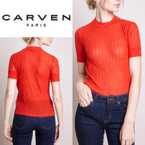 Tシャツ レッド ☆ CARVEN