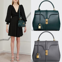 CE028 SMALL 16 BAG IN SATINATED CALFSKIN