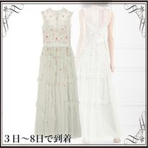 関税込◆Sequin-embellished tulle gown