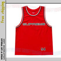 S-XL / 19SS SUPREME Rhinestone Basketball Jersey RED レッド