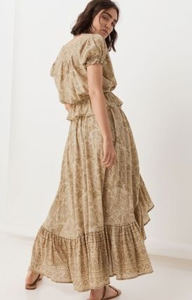 SPELL スカート 追跡送料込☆シルエットが美しい LIONESS RUCHED MAXI SKIRT(6)