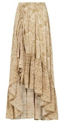 SPELL スカート 追跡送料込☆シルエットが美しい LIONESS RUCHED MAXI SKIRT(7)