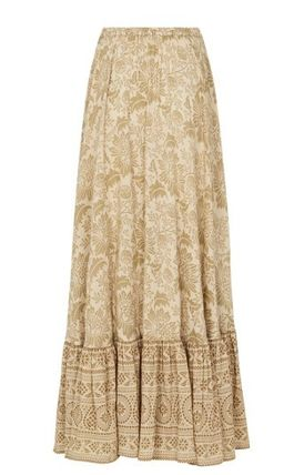 SPELL スカート 追跡送料込☆シルエットが美しい LIONESS RUCHED MAXI SKIRT(8)