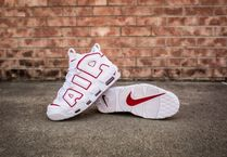 【 Nike ナイキ  】エアモア Air More Uptempo '96 RED-WHITE