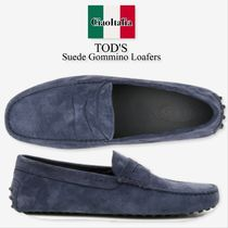 TOD'S(トッズ) ドレスシューズ・革靴・ビジネスシューズ Tod s suede gommino loafers