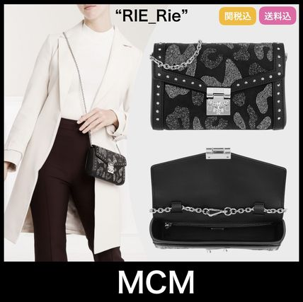 ★日本未入荷★【MCM】ME Leo Crossbody Bag Chain Black