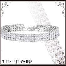 Kenneth Jay Lane(ケネスジェイレーン) アンクレット 関税込◆Rhodium-plated cubic zirconia anklet