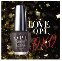 OPI  INFINITE SHINE  HRJ50  TOP THE PACKAGE WITH A BEAU 送込
