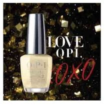 OPI  INFINITE SHINE  HRJ51  GIFT OF GOLD NEVER GETS OLD 送込