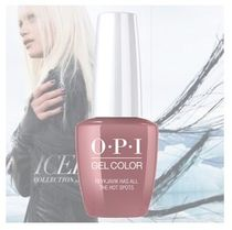 OPI  INFINITE SHINE  ISL I63 Reykjavik has all the Hot Spots