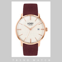 ヘンリーロンドン 時計 HENRY LONDON Regency Suede HL40-S-0356