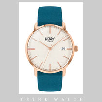ヘンリーロンドン 時計 HENRY LONDON Regency Suede HL40-S-0360