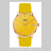 ヘンリーロンドン 時計 HENRY LONDON Regency Suede HL40-S-0364