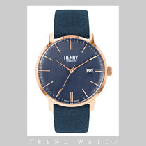 ヘンリーロンドン 時計 HENRY LONDON Regency Suede HL40-S-0370