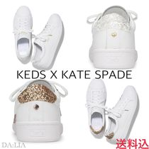 【注目コラボ!!!】Kate Spade×Keds★ACE LEATHER GLITTER★