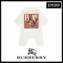 19AW☆BURBERRY☆プリントロゴBabyロンパース