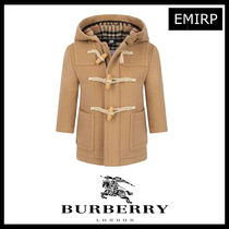 19AW☆BURBERRY Baby☆ウールダッフルコート 12M-2Y