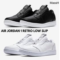 国内完売★選べる2色★NIKE★WMNS AIR JORDAN 1 RETRO LOW SLIP