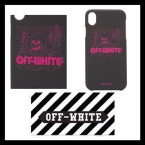 Off-White★ロゴ入り iPhone XR ケース