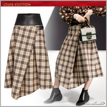 ◆Louis Vuitton 19SS 最新作◆ロングパネルスカート◆チェック