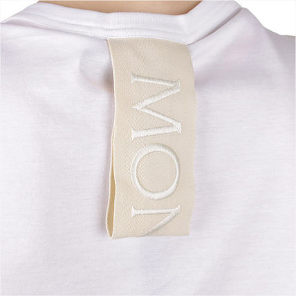 MONCLER Tシャツ・カットソー 【MONCLER】19SS GENIUS LOVE ロゴパッチ Tシャツ WHITE/追跡付(6)