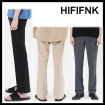 ☆イベント/関税込☆HI FI FNK★High Line Slit Slacks★3色★