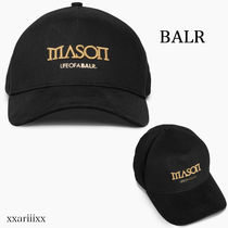 ◆NEW◆BALR◆ MASON GARMENTS ロゴ キャップ