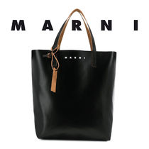 MARNI☆TWO-TONE TOTE BAG トート バッグ / black & blue