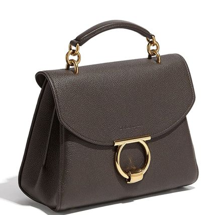 Salvatore Ferragamo ハンドバッグ SF367 MARGOT TOP HANDLE BAG SMALL(6)
