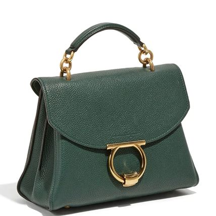 Salvatore Ferragamo ハンドバッグ SF367 MARGOT TOP HANDLE BAG SMALL(9)