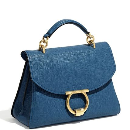 Salvatore Ferragamo ハンドバッグ SF367 MARGOT TOP HANDLE BAG SMALL(13)